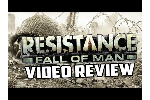 Resistance: Fall of Man Playstation 3 Game Review - YouTube