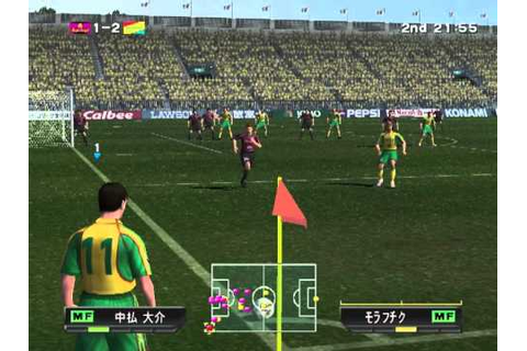 J. League Winning Eleven 6 (2002) (PlayStation 2) - YouTube