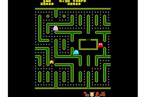 Arcade Game: Jr. Pac-man (1983 Midway) - YouTube