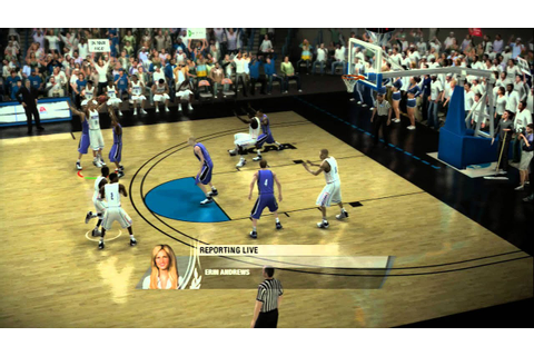 NCAA Basketball 09 - Full Game - XBOX360 - YouTube