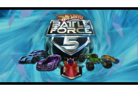 Hot Wheels Battle Force 5 Toys (2015 Remake) (HD) - YouTube