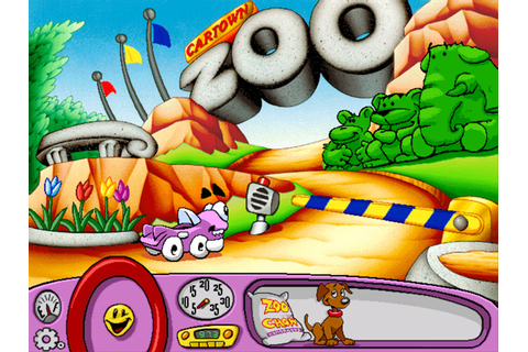 Putt-Putt Saves the Zoo (CD Windows) Game