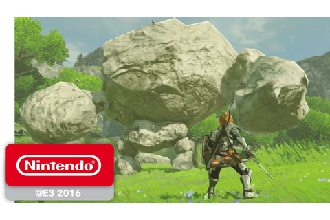 The Legend of Zelda: Breath of the Wild - Official Game ...