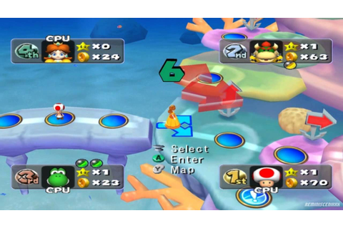 Mario Party 5 - Party Mode / Undersea Dreams Gameplay ...