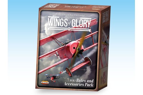 WGF002A – WW1 Wings of Glory – Rules and Accessories Pack ...