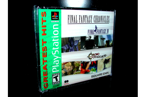 Final Fantasy CHRONICLES (PLAYSTATION 2 PS1 / PS2) ***NEW ...