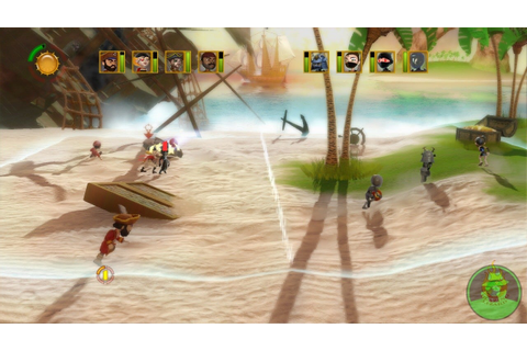 Pirates vs. Ninjas Dodgeball Screenshots, Pictures ...