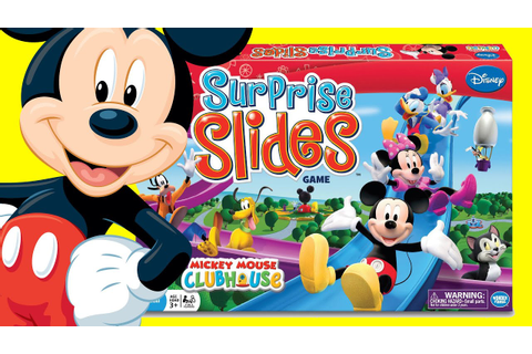 Mickey Mouse Clubhouse Surprise Slides Game by Disney ...
