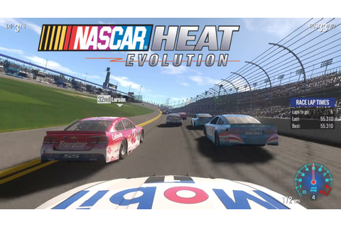 Nascar Heat Evolution Gameplay (Xbox One) - All Drivers ...