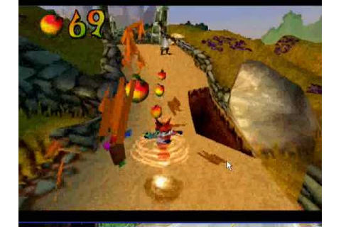 Crash Bandicoot 3(warped)pc gameplay - YouTube