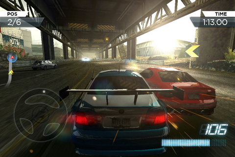 Need for Speed Most Wanted android mobile game free - Free ...