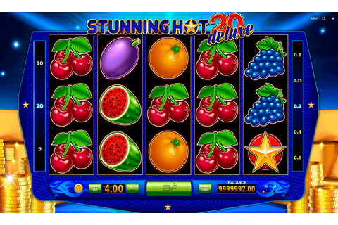 Stunning Hot 20 Deluxe Slot Machine Online ᐈ BF Games ...