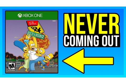 SIMPSONS HIT & RUN 2 WILL NEVER COME OUT! (THE TRUTH ...