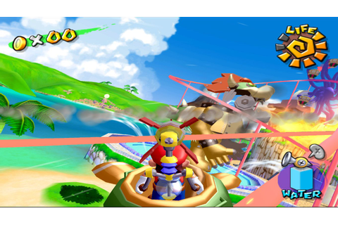 Super Mario Sunshine (U)(RARE) ROM / ISO Download for ...