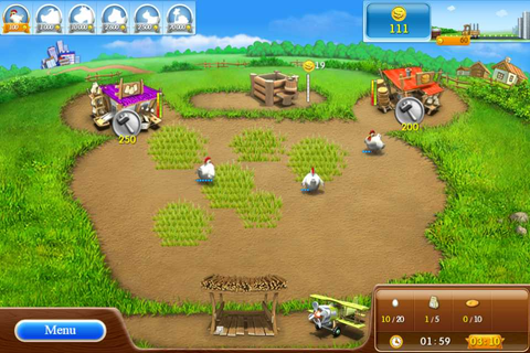 Free Online Simulation Games: Farm Frenzy 2 - Time ...