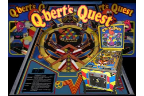 Q*Bert's Quest Pinball Gameplay - YouTube