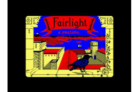 Fairlight - A Prelude Amstrad Title Music - YouTube