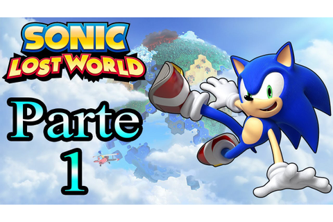 Let's Play : Sonic Lost World - Parte 1 - YouTube