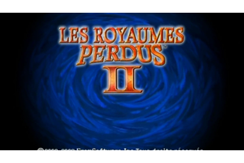 "[Gamecube] Introduction du jeu ""Les Royaumes Perdus II"" de ..."