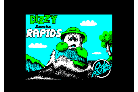 dizzy down the rapids © codemasters software (1991)