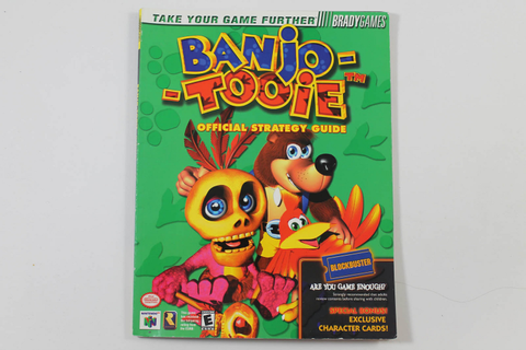 Banjo Tooie Official Strategy Guide - Brady Games