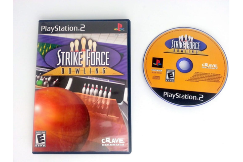 Strike Force Bowling game for Playstation 2 | The Game Guy