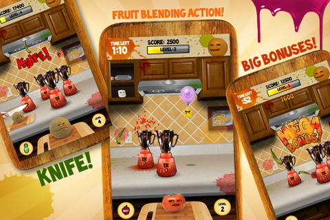Annoying Orange: Kitchen Carnage iPhone game app review ...