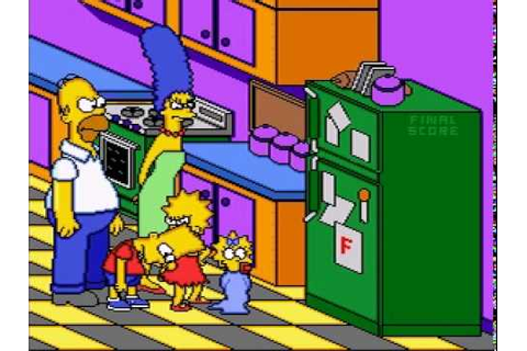 Game Over: The Simpsons - Bart's Nightmare - YouTube
