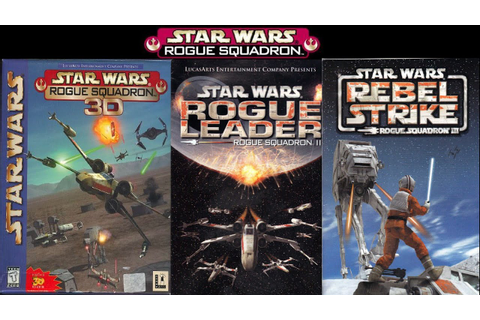 Star Wars: Rogue Squadron Trilogy Game Movie (All ...