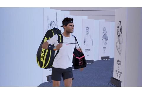 Rafael Nadal to feature in new tennis video game