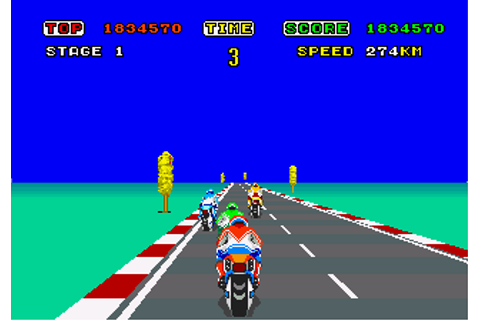 Hang-On - Videogame by Sega