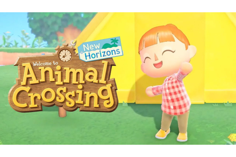 Animal Crossing New Horizons - Release Date Gameplay ...