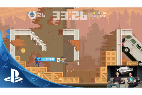 Super Time Force Ultra - PlayStation Underground Gameplay ...