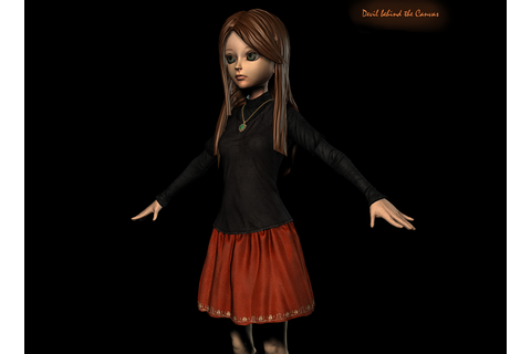 Amy in-game Model Screenshot image - Devil behind the ...