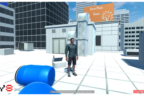 Play Parkour GO 2 - Urban - Free online games with Qgames.org