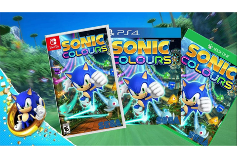 Sonic Colours Remastered - Gameplay Trailer - PlayStation ...