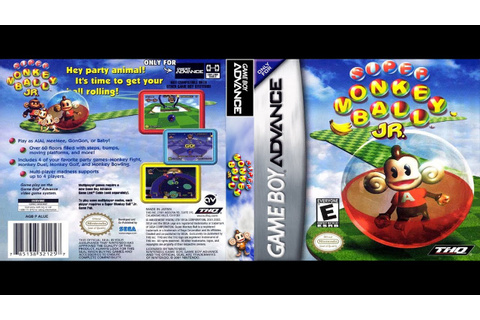 Uncommon Game Showcase 032 - Super Monkey Ball Jr. (GBA ...
