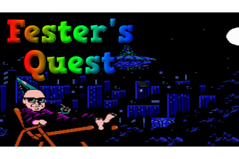 Aliens and Light Bulbs – Fester's Quest (Nintendo NES ...