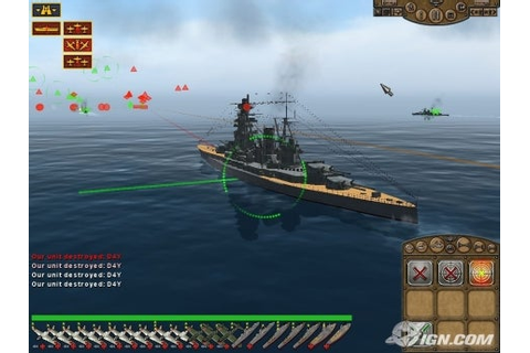 Naval war simulation game: Pacific Storm