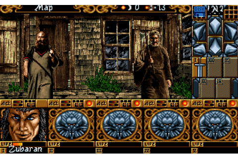 Abandonware Games / Ishar 3 The Seven Gates Of Infinity