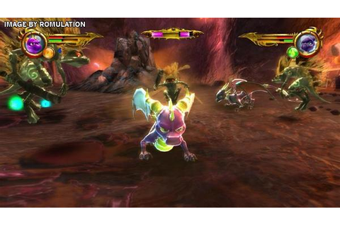 Legend of Spyro - Dawn of the Dragon (USA) Nintendo Wii ...