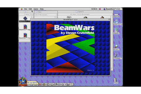 Beam Wars v2.3.2 (1994, Macintosh)[720p] - YouTube