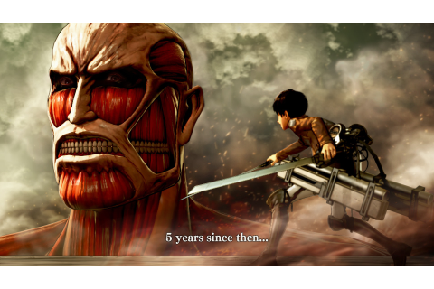 Attack on Titan: Wings of Freedom - Review / Test ...