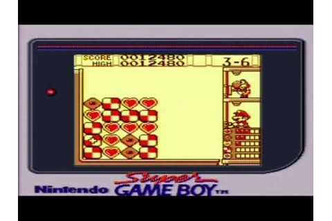 Yoshi's Cookie (Game Boy) Playthrough Part 1 - YouTube