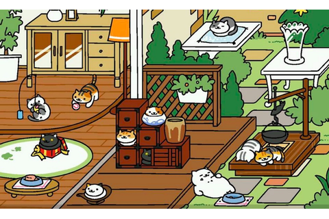 Feeling stressed? Download Neko Atsume, a Japanese game ...