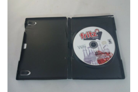 Nintendo Wii Game Fritz Chess | eBay
