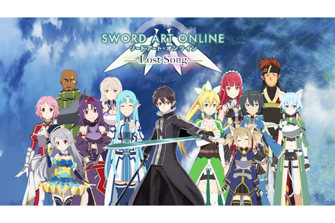 Sword Art Online: Lost Song - PS4/PS Vita - Your adventure ...