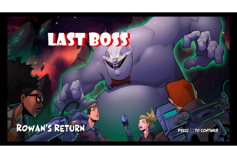 Ghostbusters 2016 Game Limbo: Last Level, Boss, and Ending ...