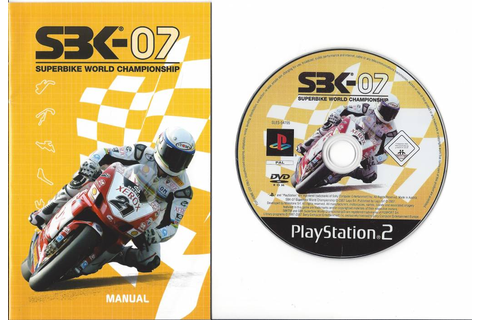 SBK-07 Superbike World Championship for Playstation 2 PS2 ...