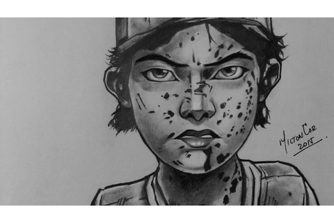 Drawing Clementine from The Walking Dead - Telltale Games ...